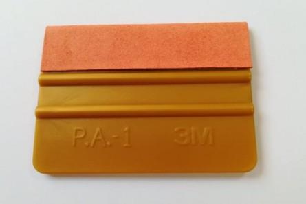 """GT 079 4""""3M Апликатор златен с филц"""