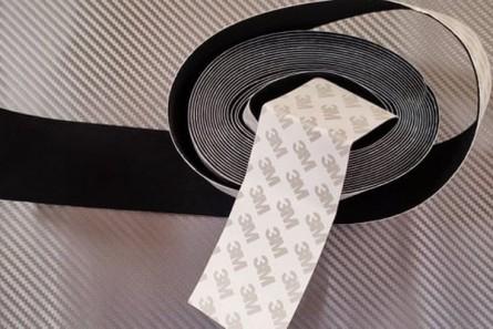 Филцова лента  3М - черна 5 см