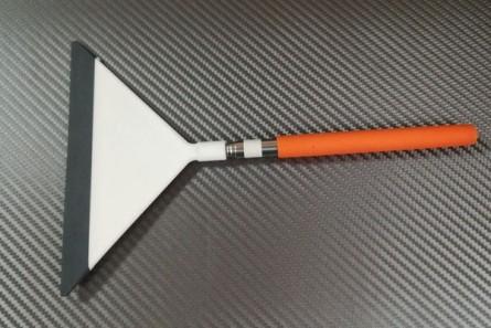 Апликатор бял с телескопична дръжка