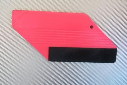 Апликатор  за фолио с филц  - червен