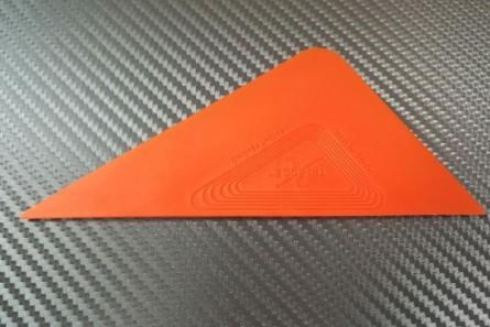 GT  2063 X Апликатор за фолио Tri-Edge - оранжев